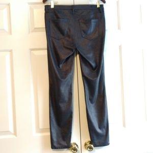 Blank NYC Pants & Jumpsuits - BlankNYC Spray On Faux Leather Pant Black Metallic